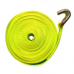 Sangle d'arrimage fluorescente